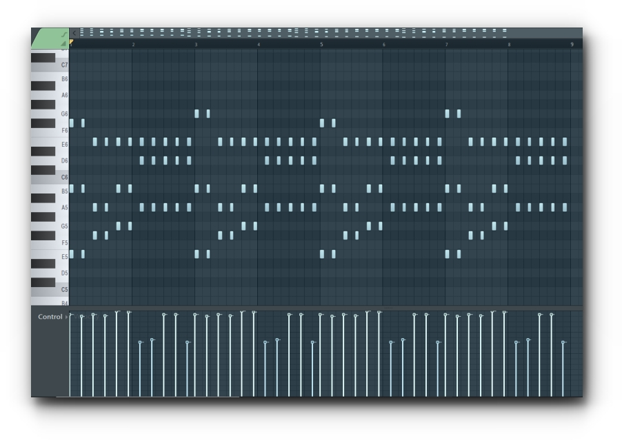 MIDI Notes in FL Studio