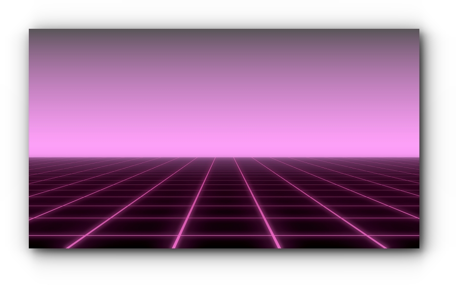 Synthwave Grid
