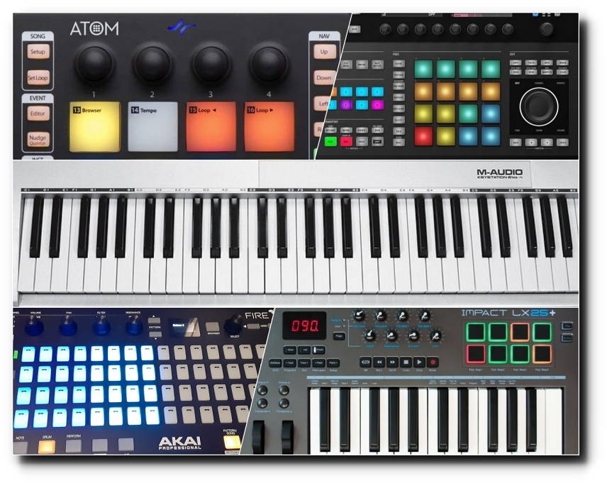 Types of MIDI Controllers