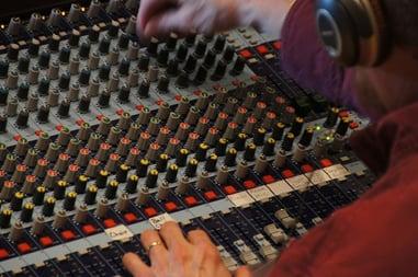 Sound Mixer Fader
