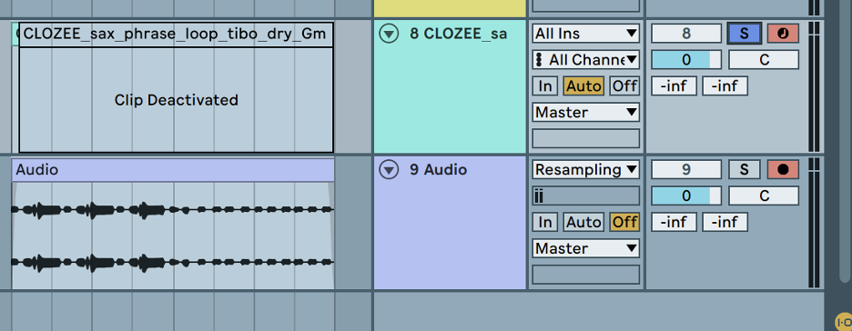 DAW Routing