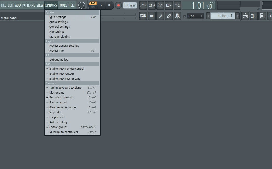 how to add time signature to fl studio