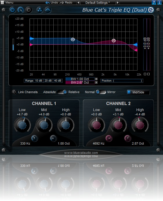 Blue Cat Triple EQ