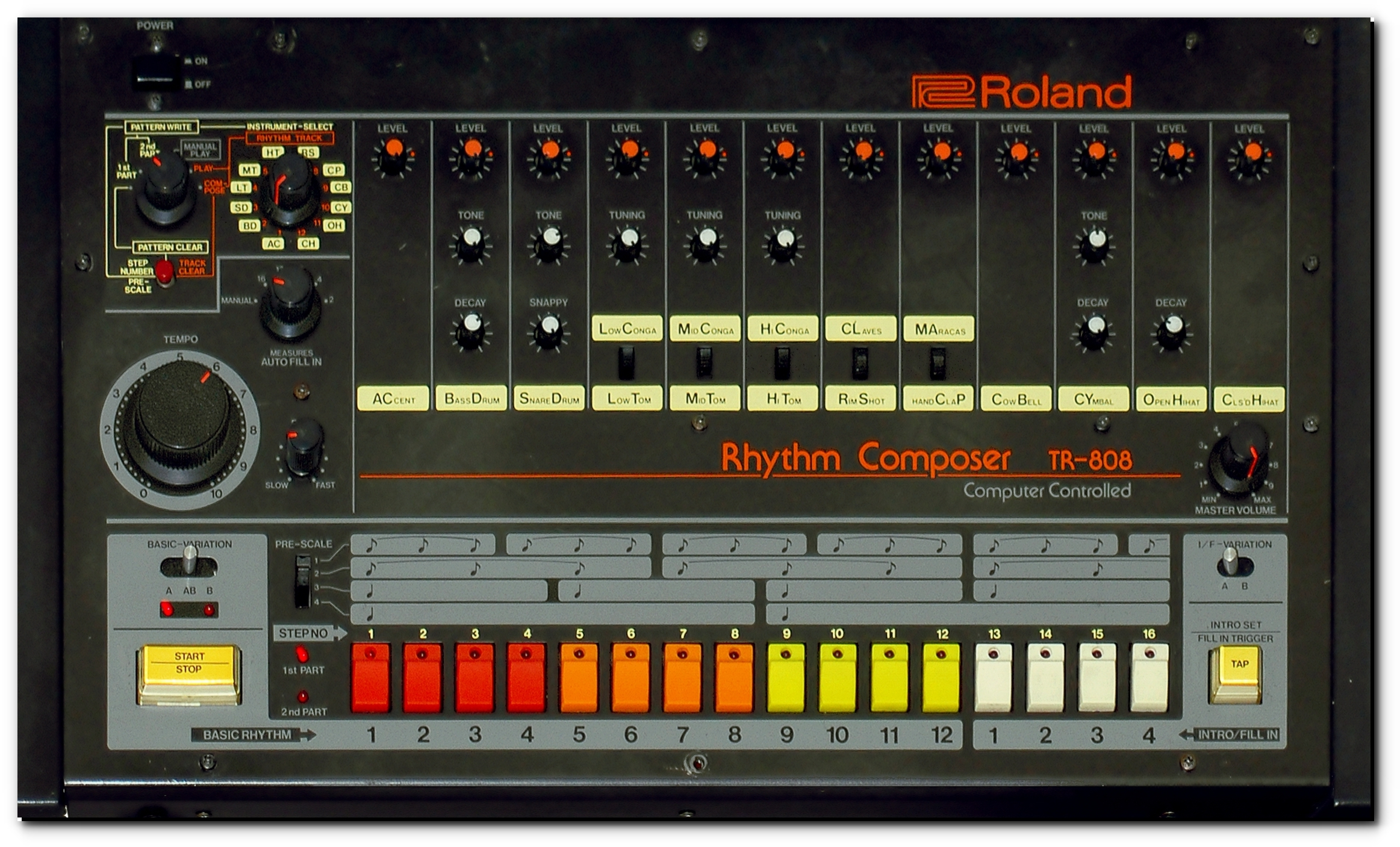 Roland TR 808 Front