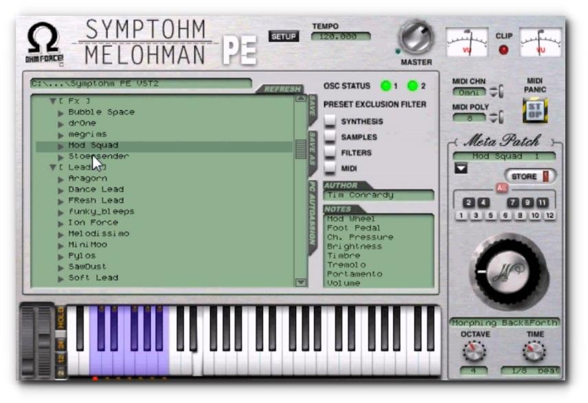 Symptohm PE