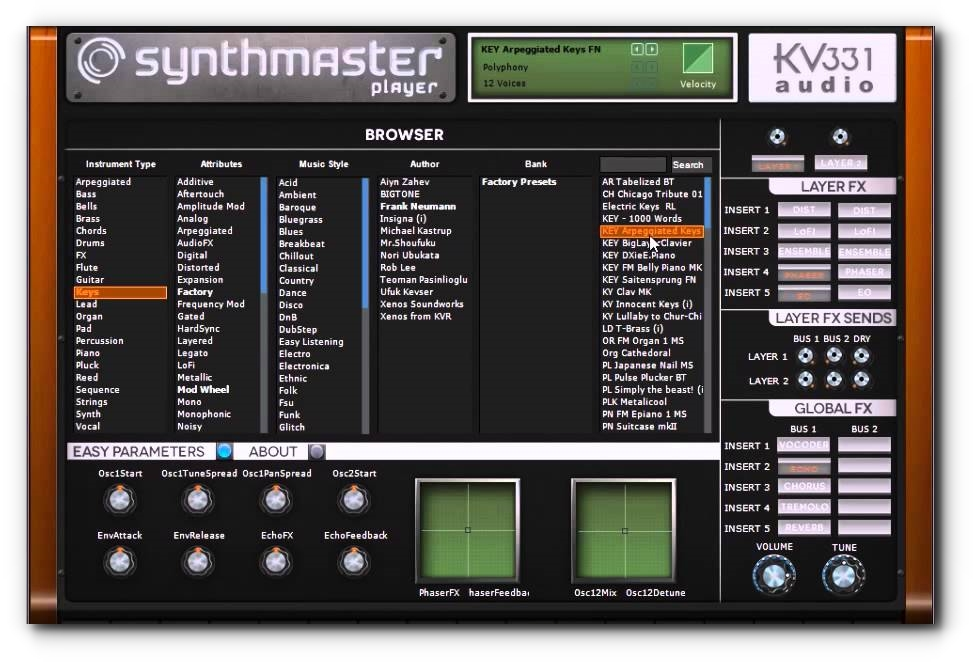 Synth Master Player